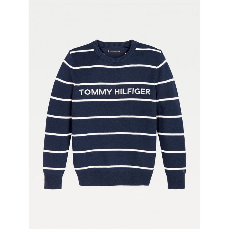 Tommy H. HILFIGER STRIPE SWEATER