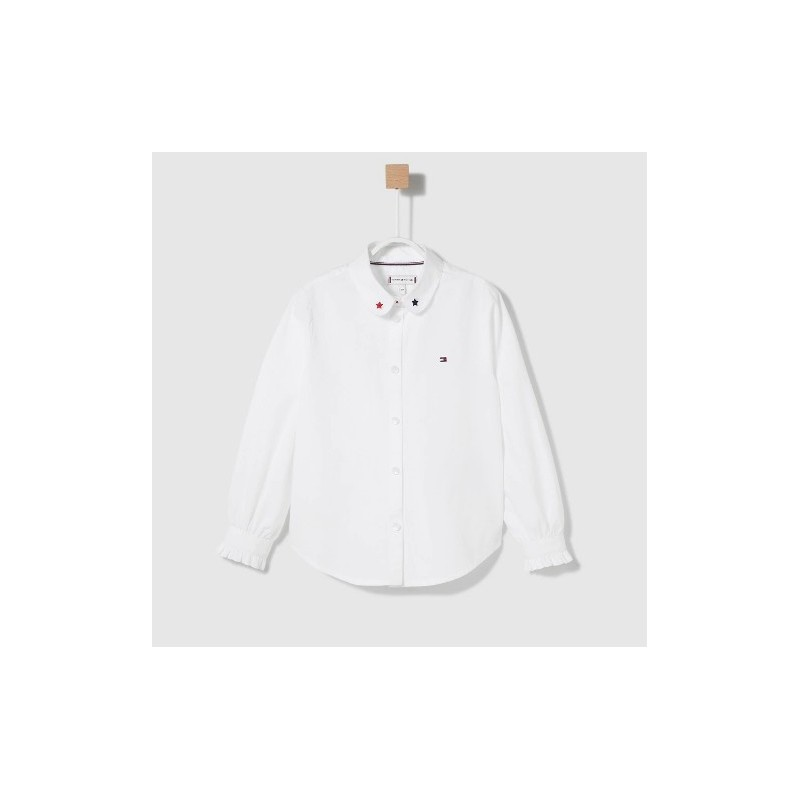 Tommy H. LG PUFF SLEEVE SHIRT L/S