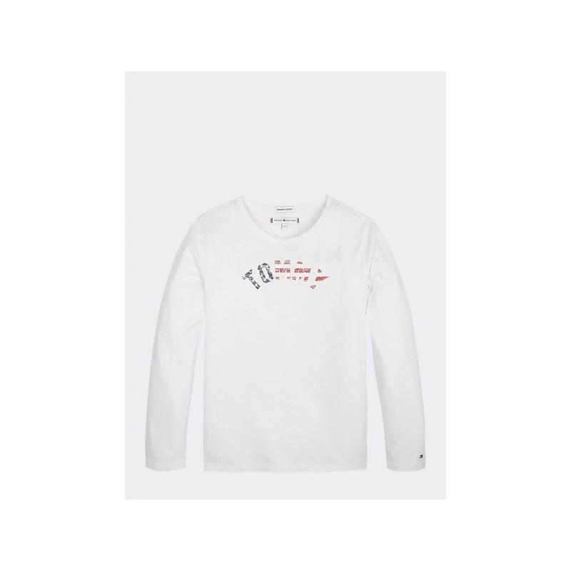 Tommy H.Camiseta Essential con logo estampado