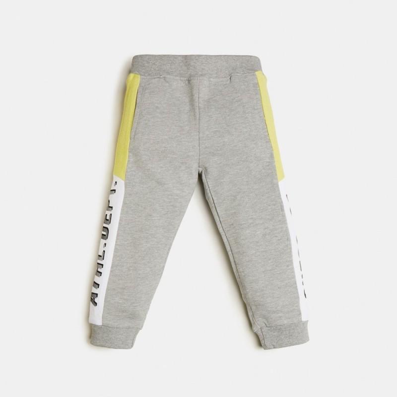 Guess - Pantalón largo gris y pistacho