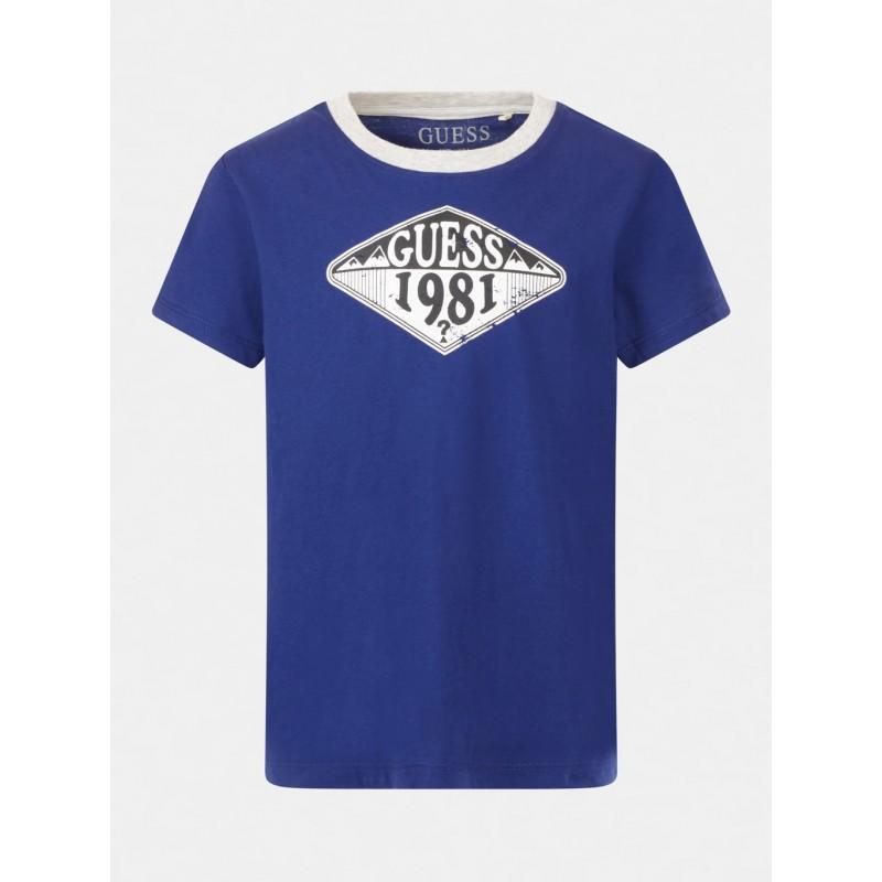 GUESS - Camiseta M/C estampado logo