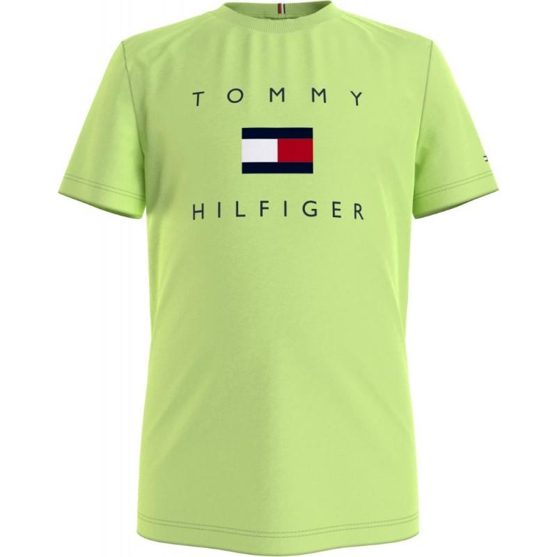 TOMMY H. - Camiseta estampado bandera