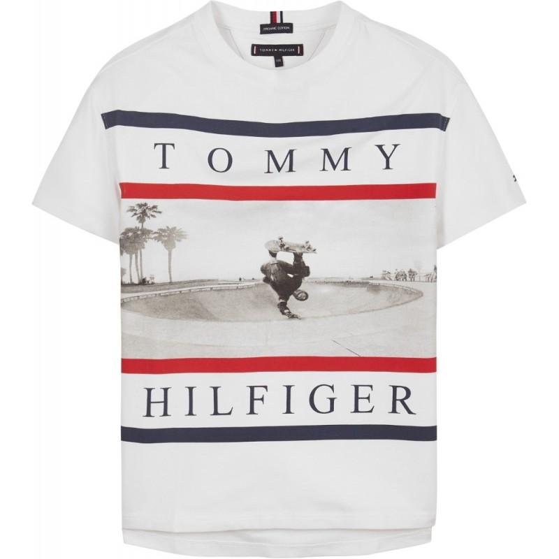 TOMMY H. - Camiseta con patinador