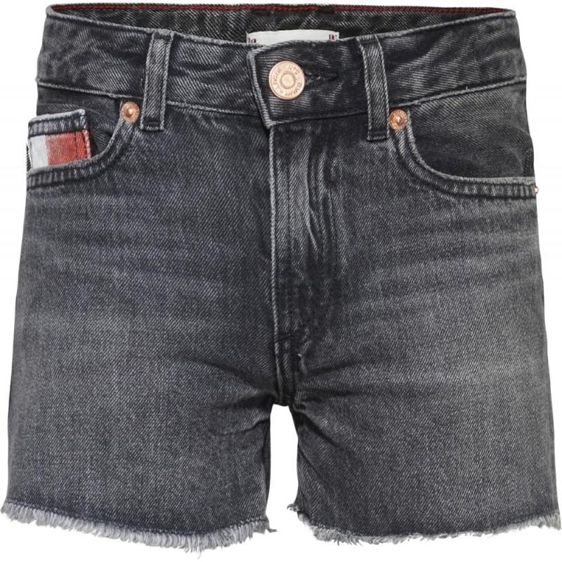 TOMMY H. - Pantalón corto bajo deshilachado