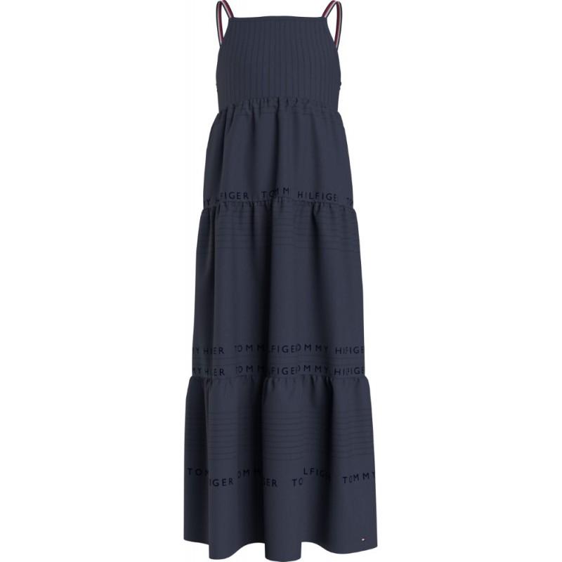 TOMMY H. - Maxi vestido