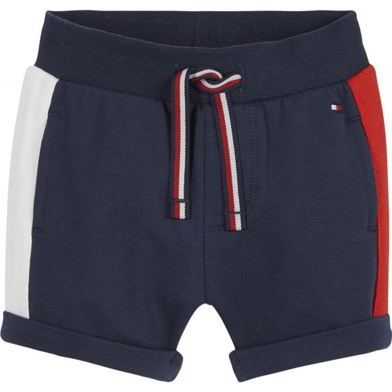 TOMMY H. - Pantalón corto con vuelta