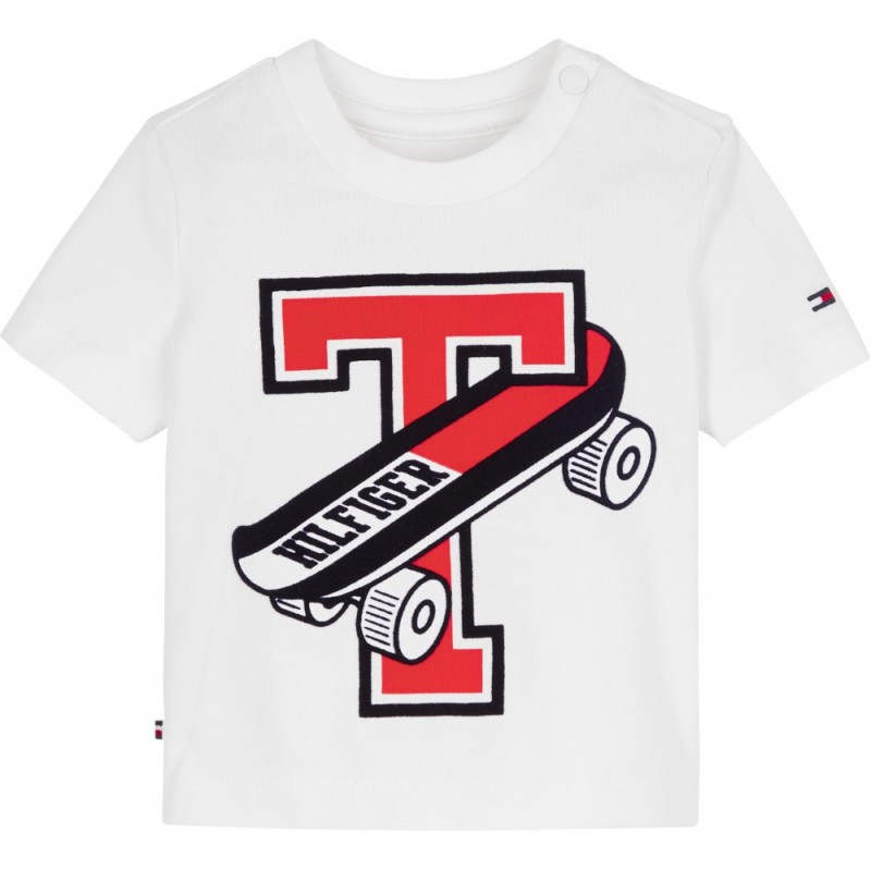 TOMMY H. - Camiseta con T-monopatinete