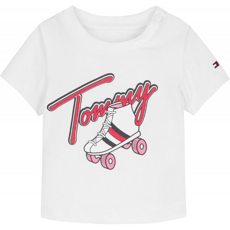 TOMMY H. - Camiseta con estampado patín