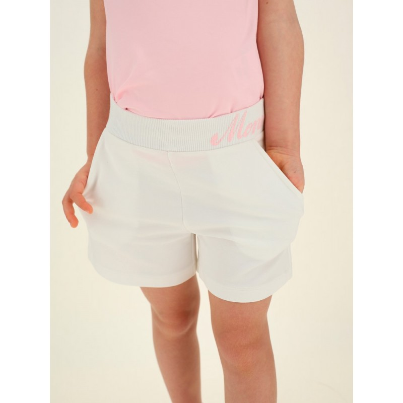 MONNALISA - Pantalón corto bicolor