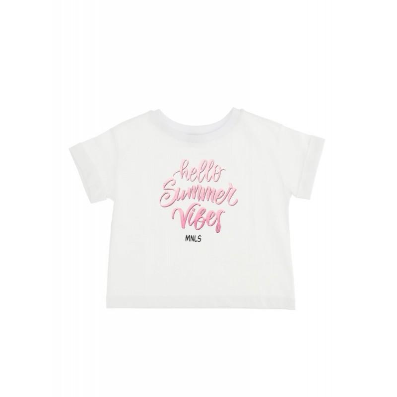 """MONNALISA - Camiseta """"HELLO SUMMER"""""""