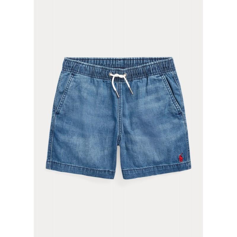 POLO RALPH - Pantalón corto vaquero