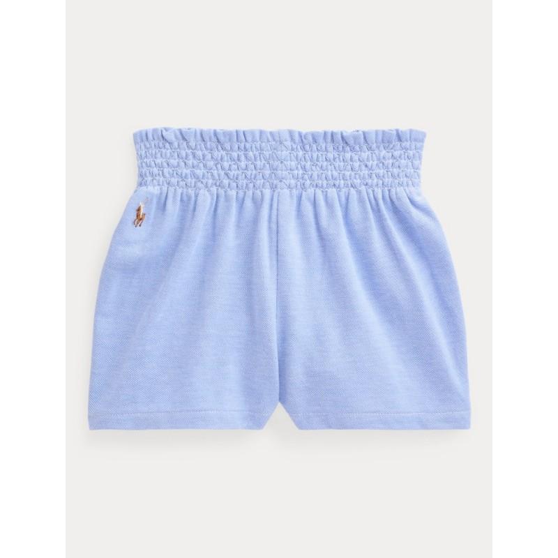 POLO RALPH - Pantalón corto cintura fruncida