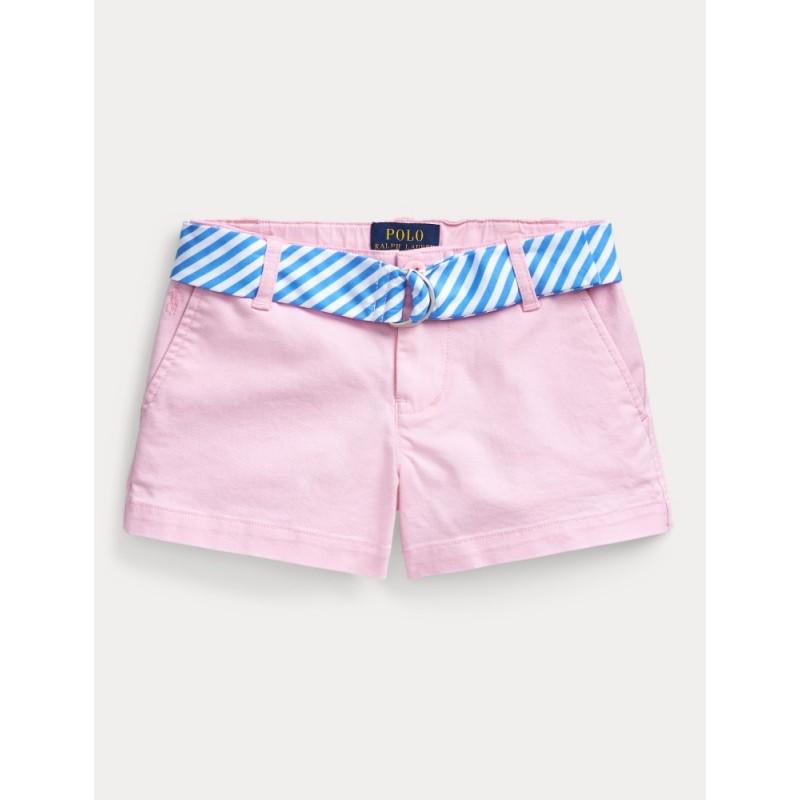 POLO RALPH - Pantalón corto con cinturón