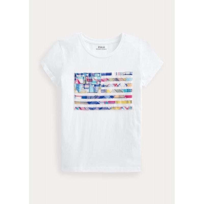 POLO RALPH - Camiseta bandera