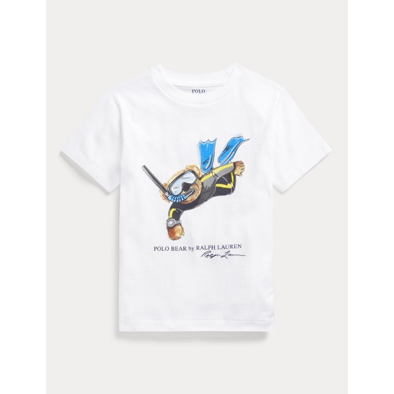 POLO RALPH - Camiseta oso esnórquel