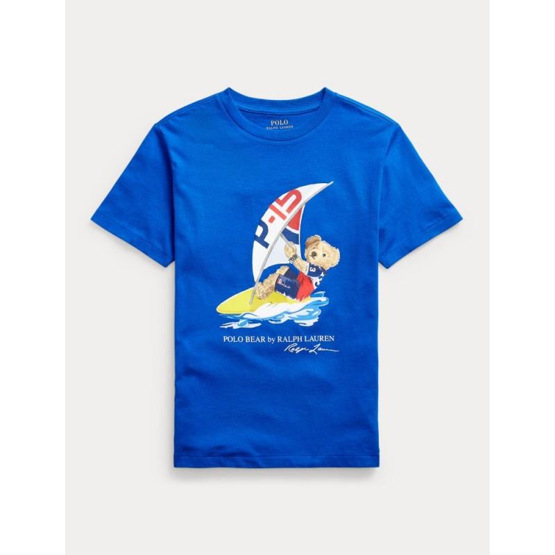 POLO RALPH - Camiseta oso windsurf
