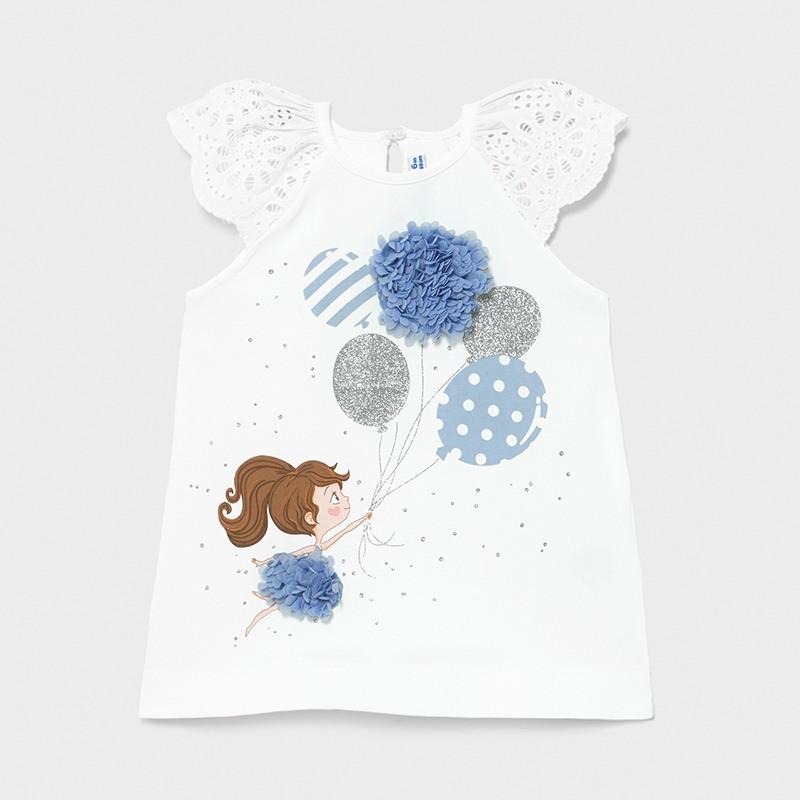 MAYORAL - Vestido serigrafia globos