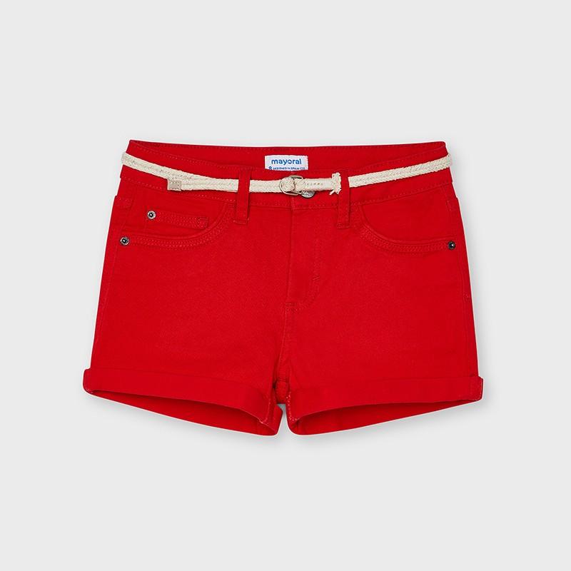 MAYORAL - Pantalón corto con cinturón