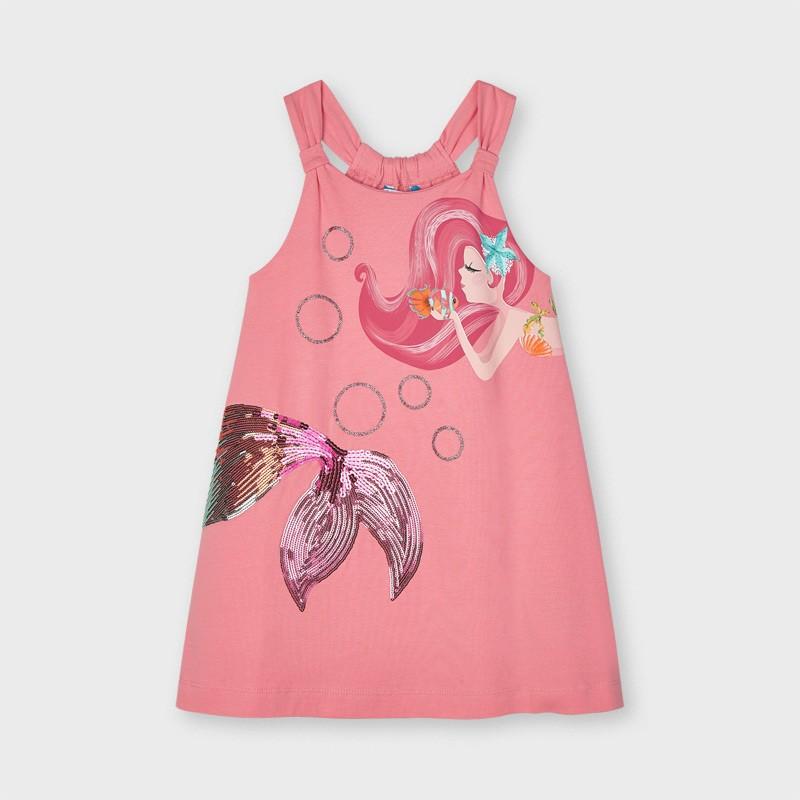 MAYORAL - Vestido dibujo sirena