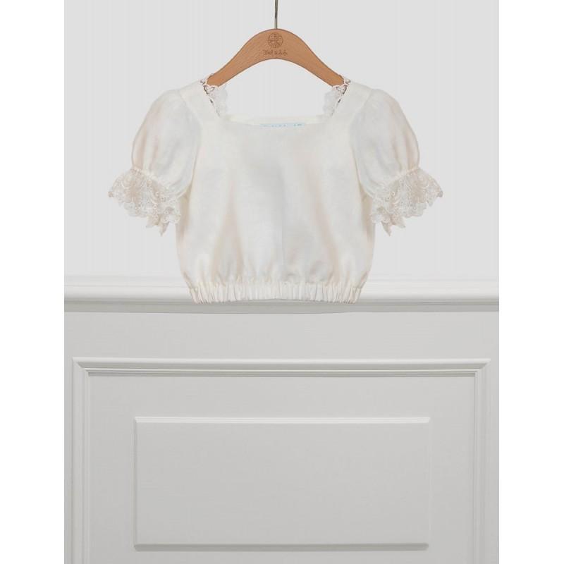ABEL & LULA - Blusa de lino