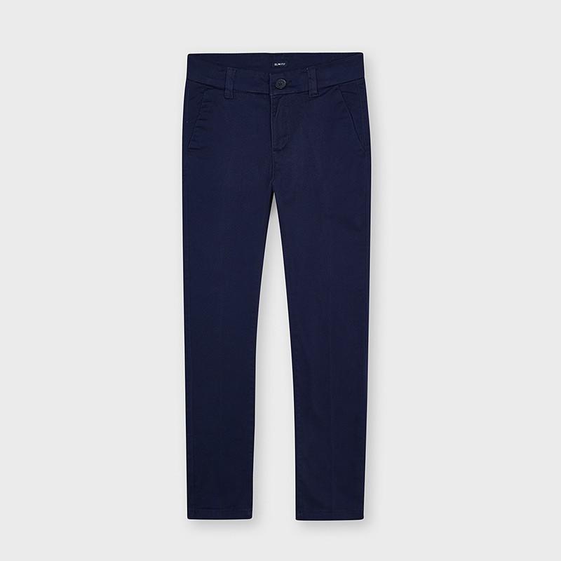 MAYORAL - Pantalon chino basico largo slim fit