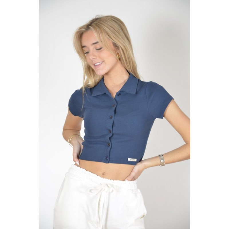 DOUBLE AGENT - Camiseta RIB Botones