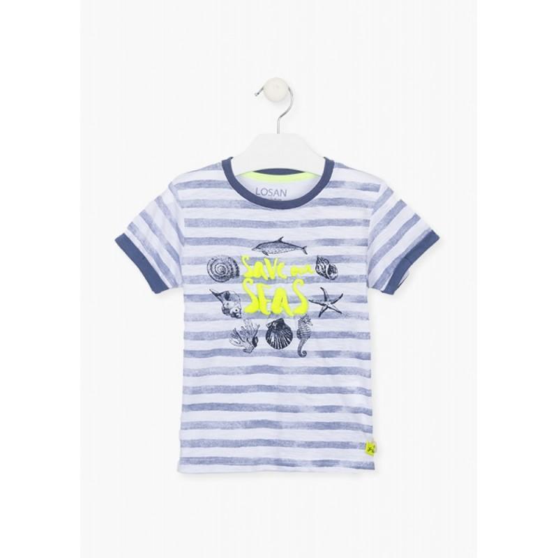 LOSAN - Camiseta Manga Corta Estampada
