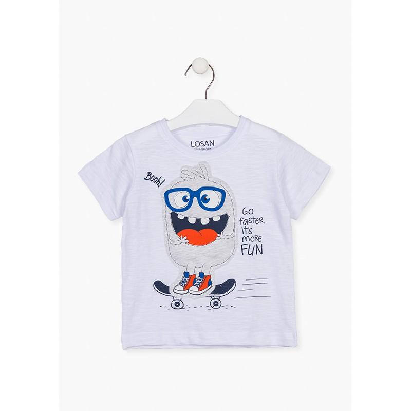 LOSAN - Camiseta Manga Corta Con Estampado