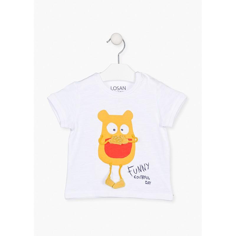 LOSAN - Camiseta Manga Corta Con Print