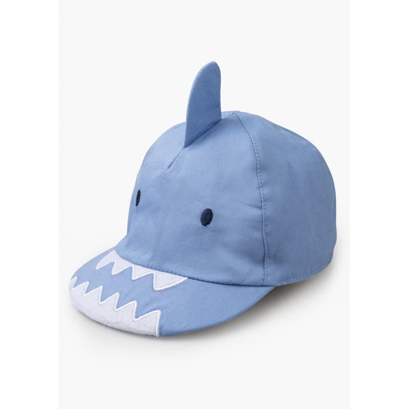 LOSAN - Gorra De Popelin Con Bordado Tiburón