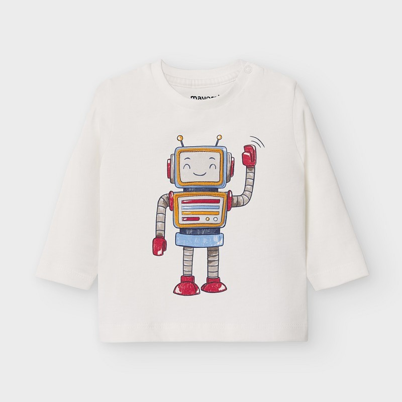 Mayoral - Camiseta INTERACTIVA de robot