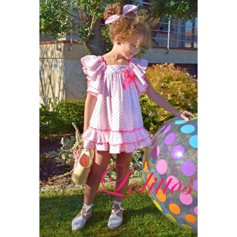 LOLITTOS - Vestido Pink