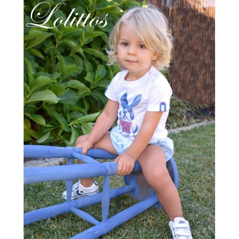 LOLITTOS - Camiseta O + Cubre Pepa