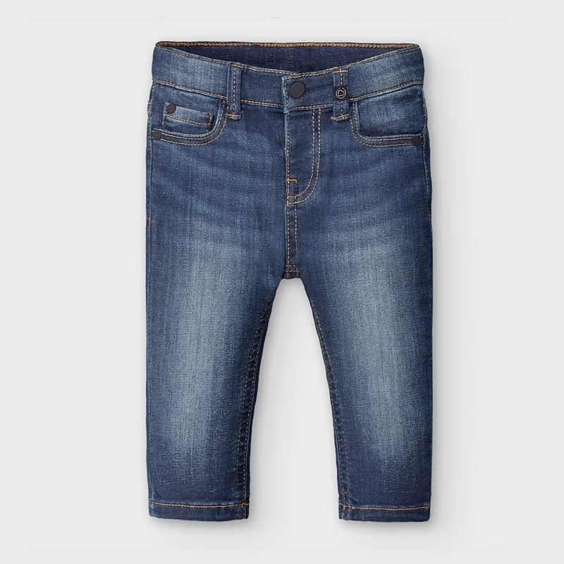 Mayoral - Pantalón tejano slim fit básico bebé