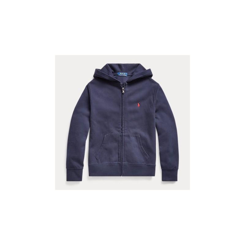 POLO RALPH - Sudadera azul marino con capucha