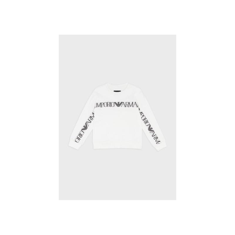 EMPORIO ARMANI Sudadera Blanca con logo